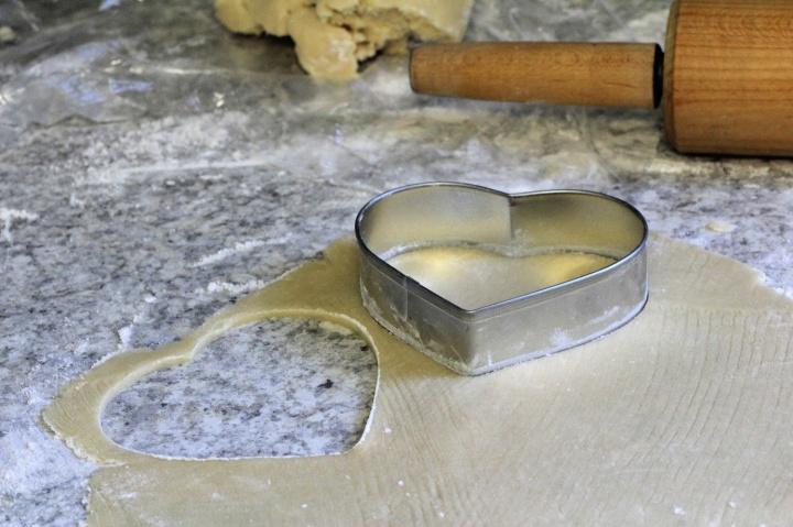 this week' bake – valentine sugarcookies