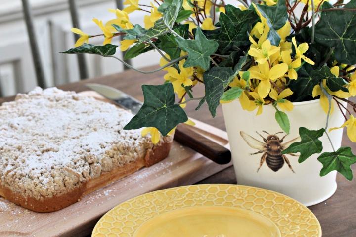this week's bake – crumbcake