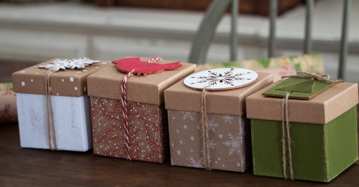 little Christmas boxes